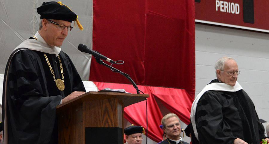 Fr. Al Spilly awarded honorary degree