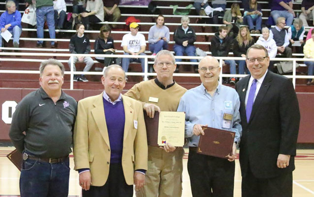 """""""Team C.PP.S."""" Honored at College"""