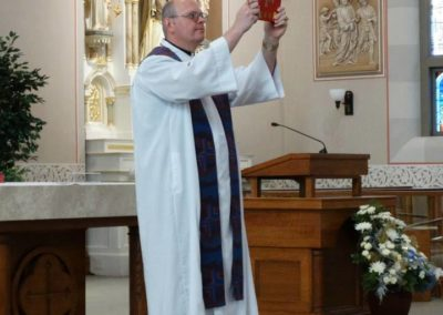 Fr. Ken Schnipke, C.PP.S., at Immaculate Conception Church, Celina, Ohio.