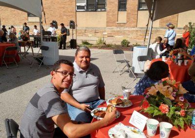C.PP.S. Volunteer Hector Avitia and Candidate Matt Perez at a PBMR event.