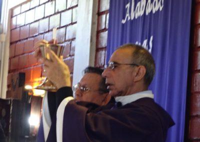 Fr. Luis Briones, C.PP.S., presides at Eucharist.