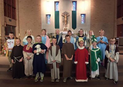 All Saints celebration at Sts. Peter and Paul, Ottawa, Ohio.