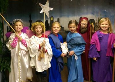 Christmas pageant, St. Michael, Kalida, Ohio.