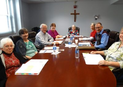 Companions Council meeting at St. Charles Center.