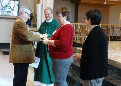 Companions make covenant at St. Charles Center.