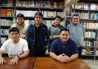 C.PP.S. seminarians in Peru.