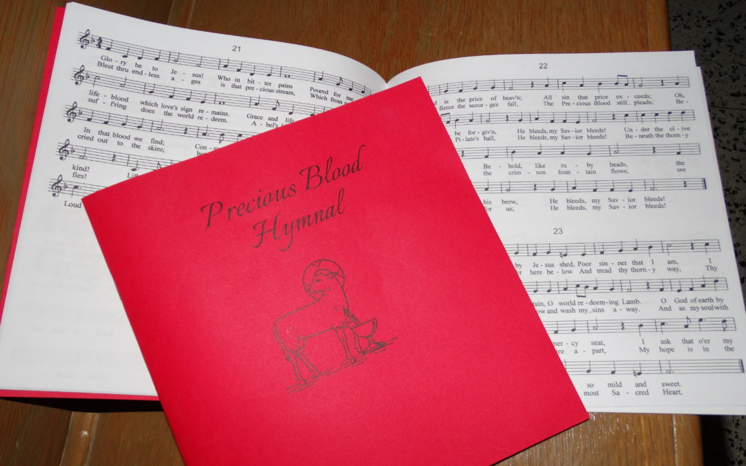 New Precious Blood Hymnals in Pews