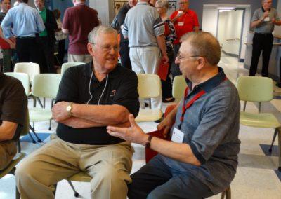 C.PP.S. Frs. Ken Schroeder and Louis Schmit.