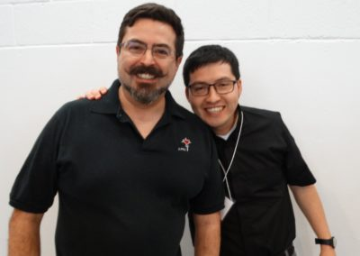 Br. Juan Acuña, C.PP.S., with Fr. Diego Gallardo, C.PP.S., of Chile.