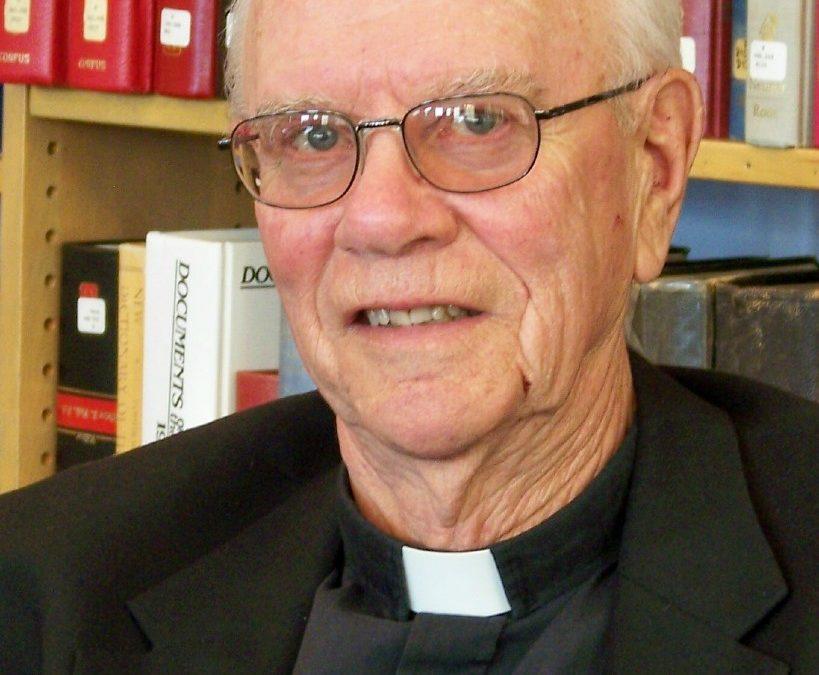 Fr. McCabe to Mark 60th Anniversary
