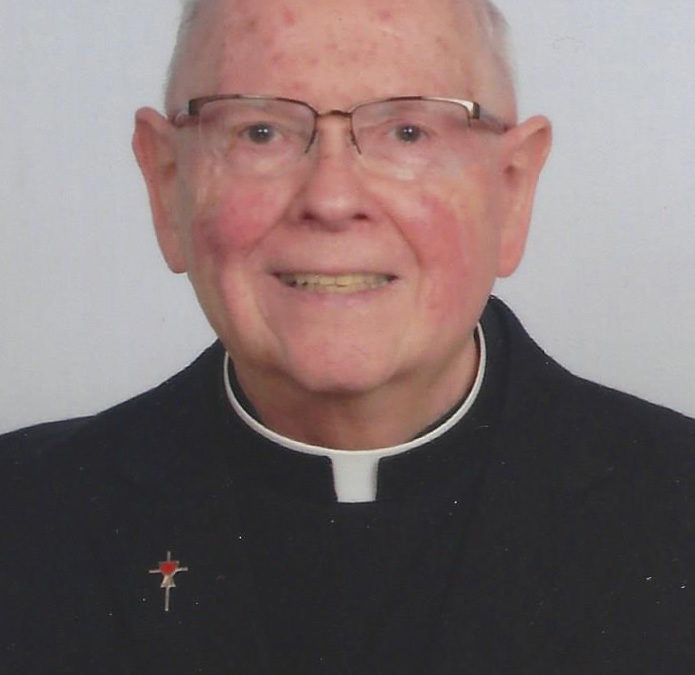 Fr. Moreeuw to Mark 50th Anniversary