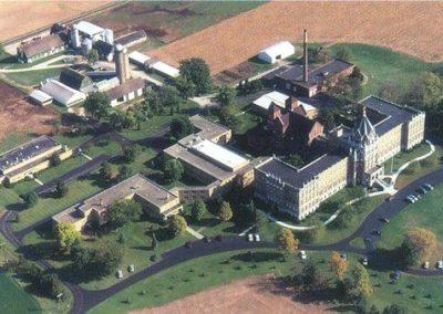 St. Charles Center Aerial photo