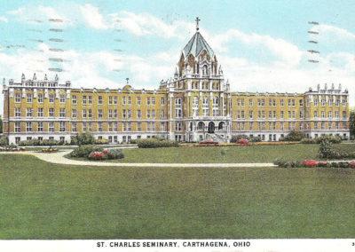 vintage postcard of st charles