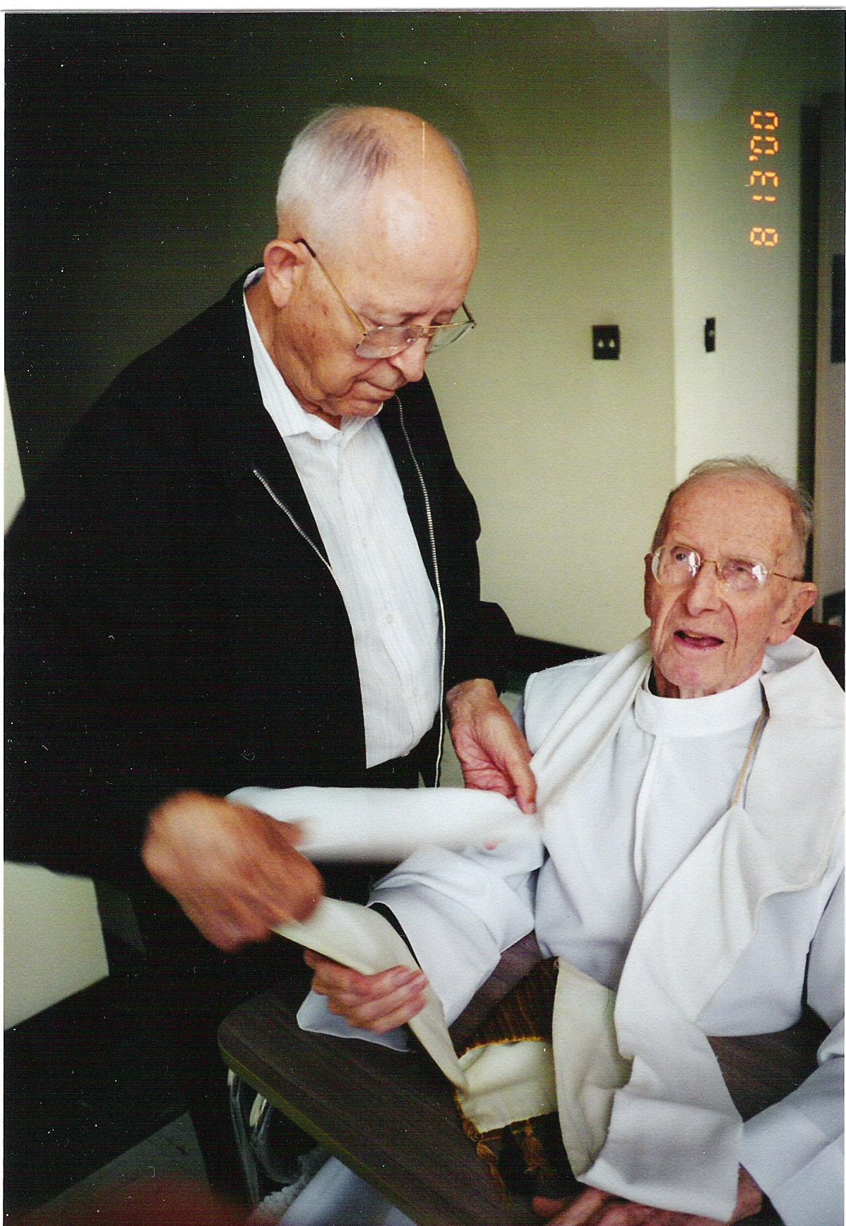 Fr. Denis Rumschlag, C.PP.S., and Fr. Harold Diller, C.PP.S.