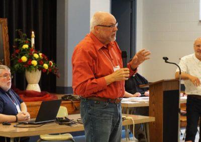 Fr. Bill Nordenbrock, C.PP.S., moderator general,