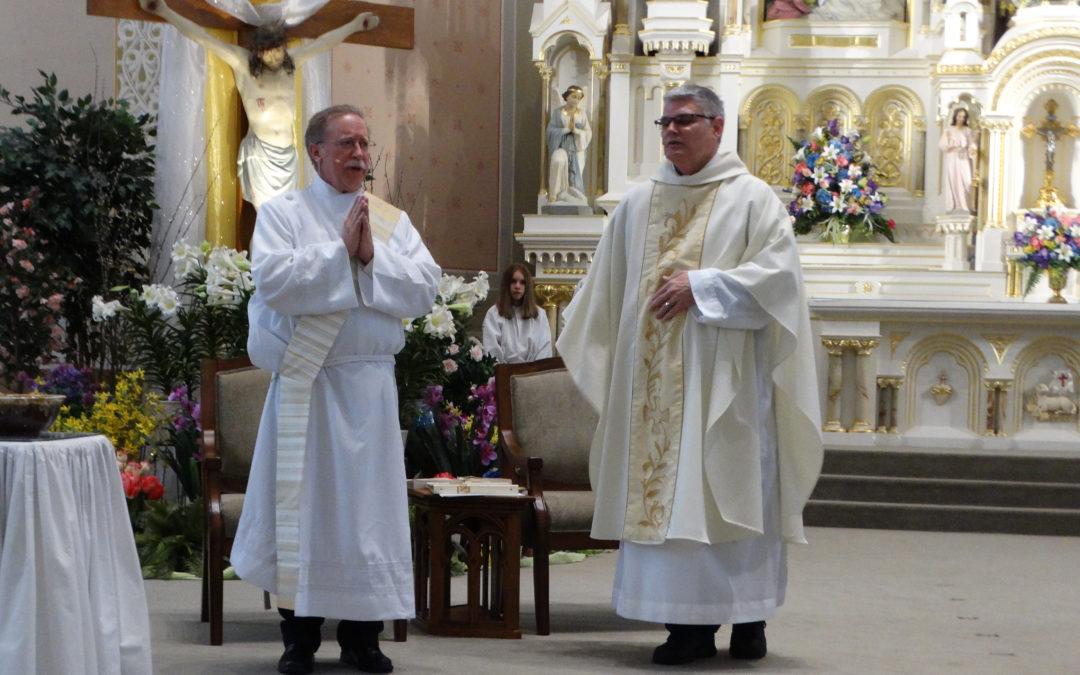 Companion Serves as Deacon