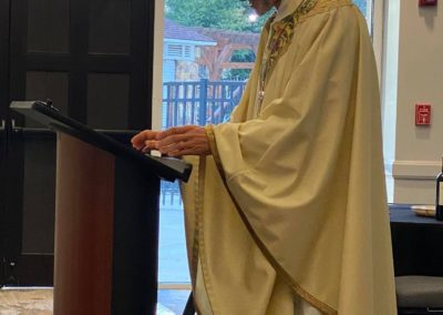 Missionaries of Mercy January 2020 -Bishop preaching