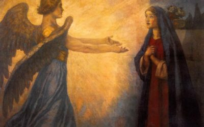 Mary's Yes was a Litany
