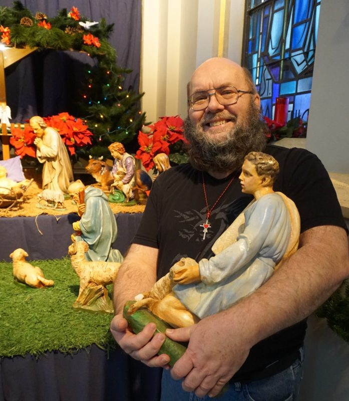 The Nativity Scene at St. Charles Center