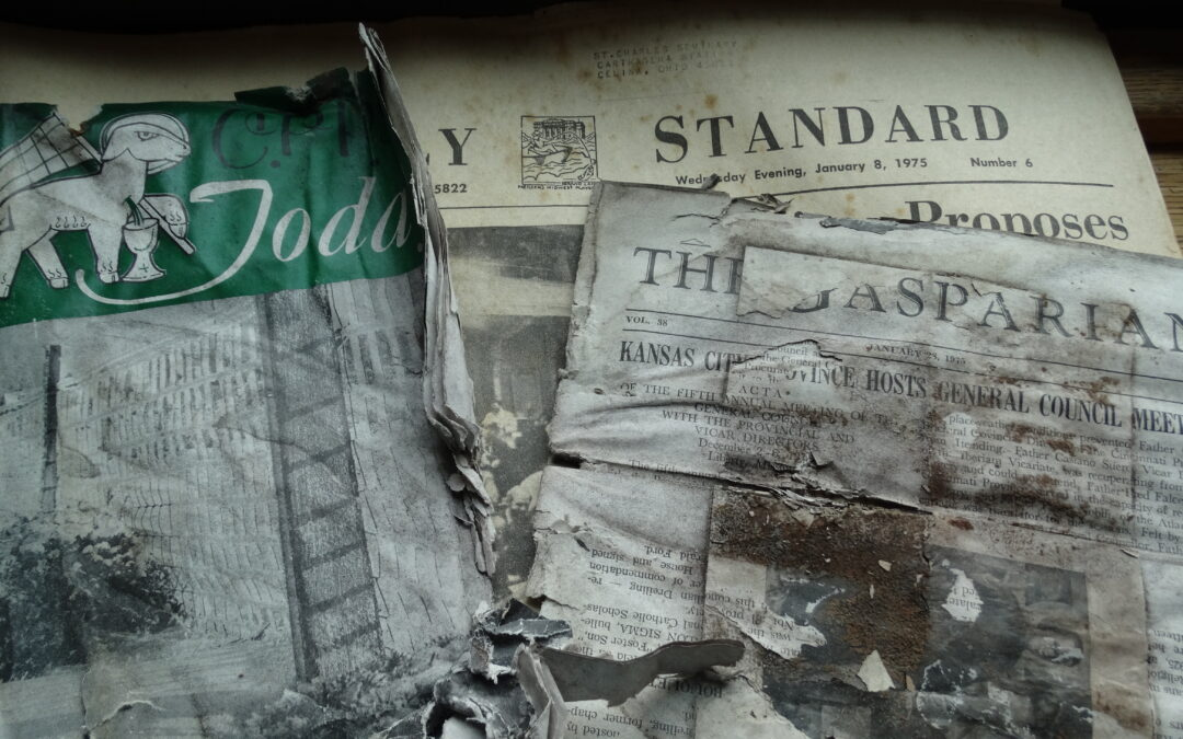 Messages Found in St. Charles Window Frames