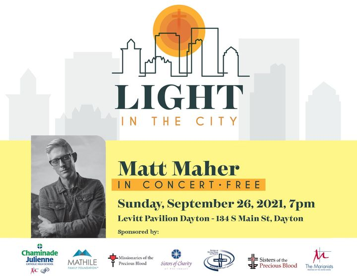 Missionaries Co-Sponsor Matt Maher Free Concert