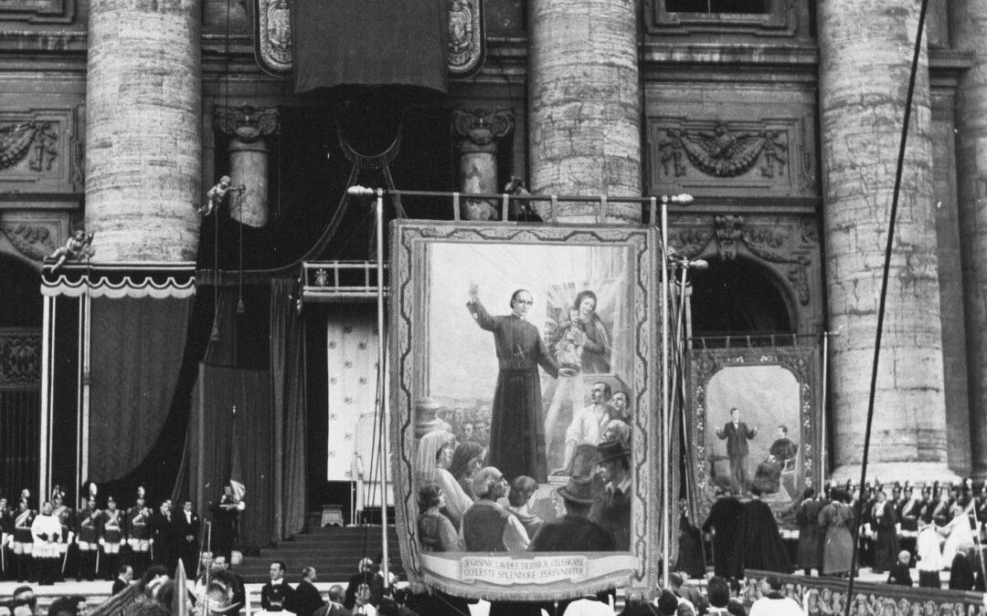 "St. Gaspar had ""an Effervescence of Spirit"""